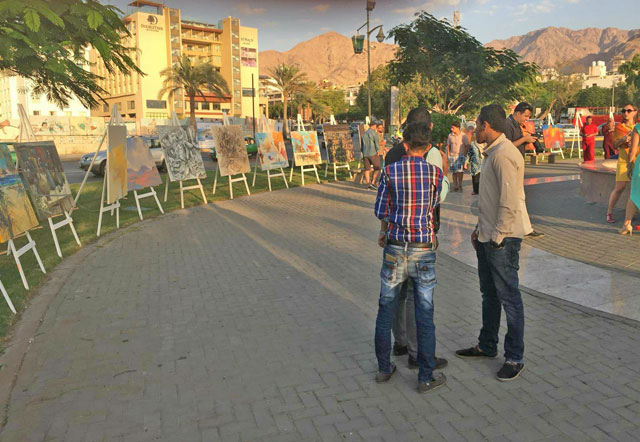 Aqaba becomes artists' studio as leading painters convene with their 'ingredients'