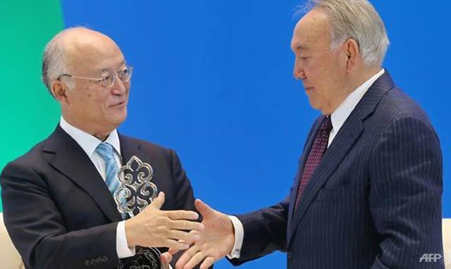 Kazakhstan opens IAEA Low Enriched Uranium Bank