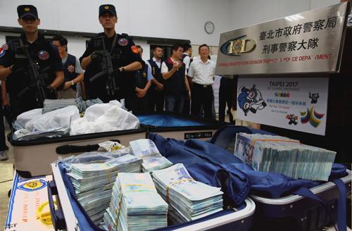Taiwan cracks global ring stealing NT$83 m