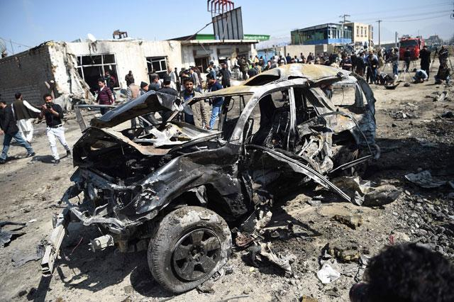 Taliban Claim Car-Bomb Attack In Kabul