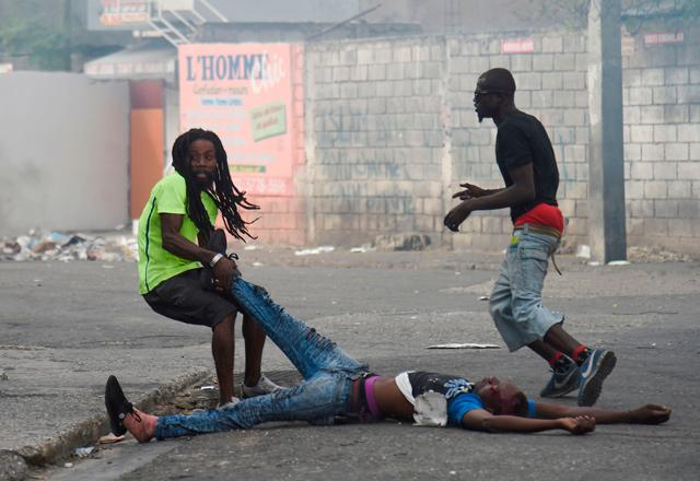 No word from Haiti's president as protests cripple capital