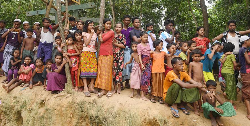 Rohingya crisis a year on: refugees going nowhere as cash