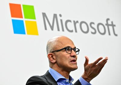 Microsoft's new fiscal year record