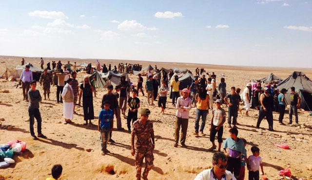 687 Syrian refugees crossed into Jordan during Eid holiday
