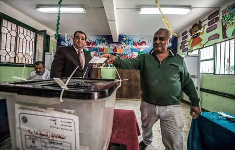 El-Sisi leads Egypt presidential election
