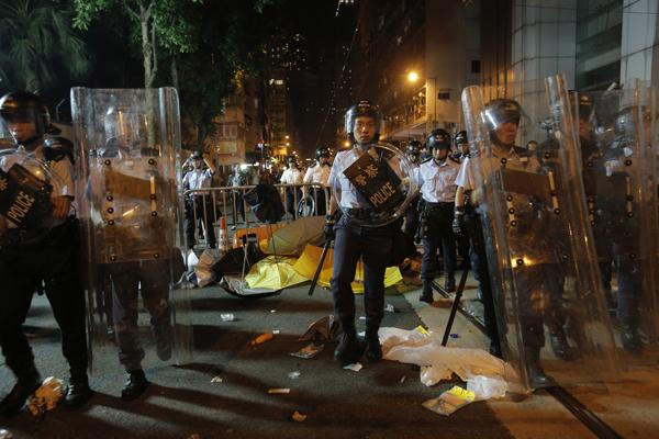 China says it must act to deter Hong Kong separatism