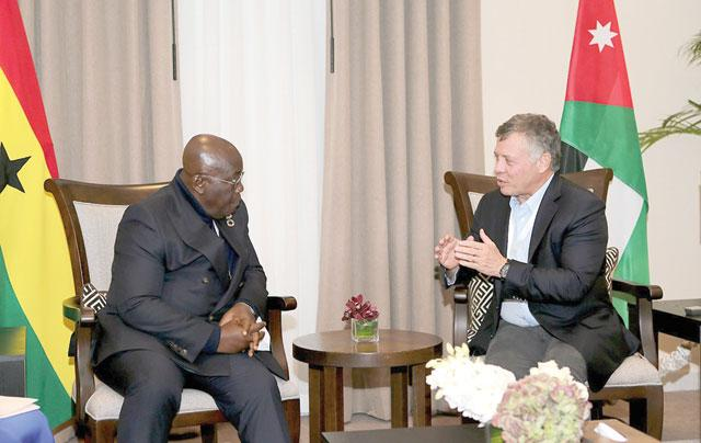 Akufo-Addo meets King of Jordan over terrorism
