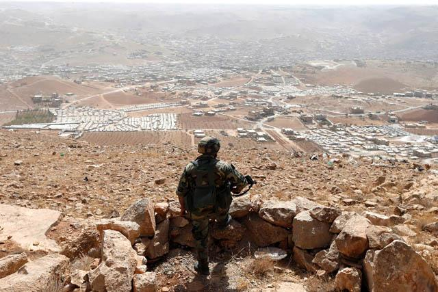 Syria army, Hezbollah attack terrorist positions in border areas