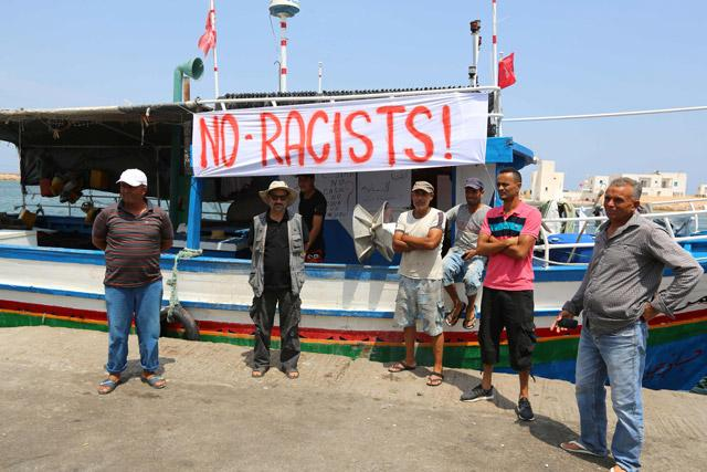 Tunisian labour union mobilises against 'racist' C-Star ship