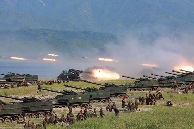 North Korea Launches 3 Short-Range Ballistic Missiles, One Fails in Flight