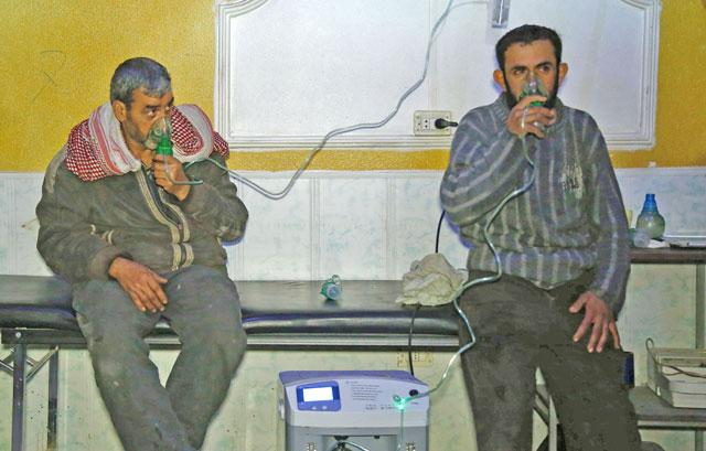 Syria's alleged use of chemical weapons again under global scrutiny