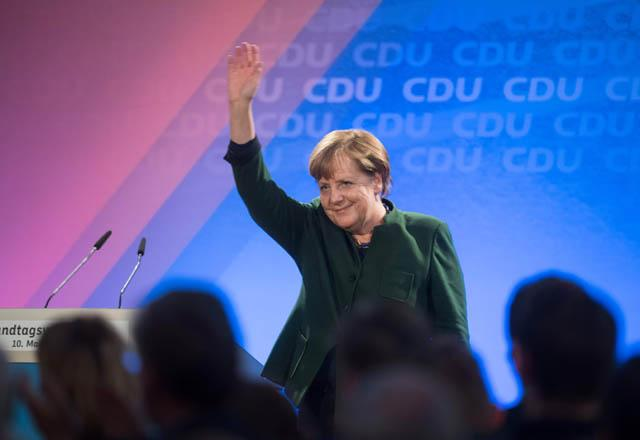 CDU wins over SPD's stronghold of North Rhine-Westphalia