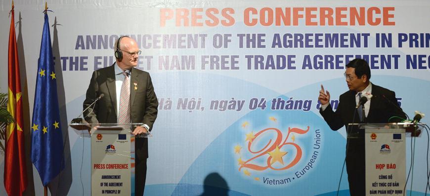 Eu And Vietnam Reach Agreement On Free Trade Jordan Times