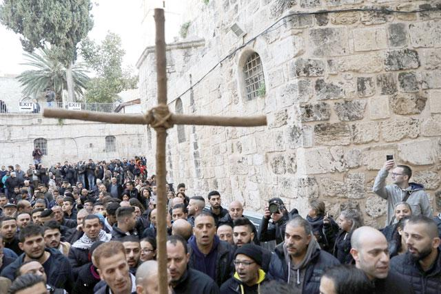 Christians shutter Jerusalem's Church of the Holy Sepulchre to protest taxes