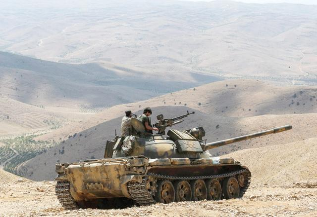 Lebanese army drives IS from Syria border posts class=