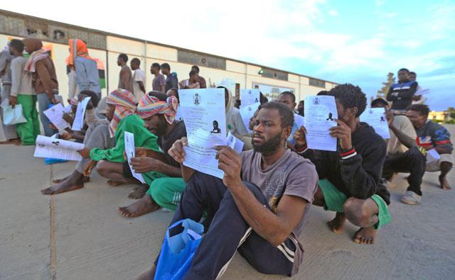 Security Council condemns reported slave trade of migrants in Libya