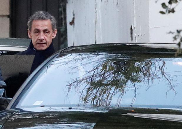 Ex-French president Nicolas Sarkozy defends himself against 'mad allegations' of corruption