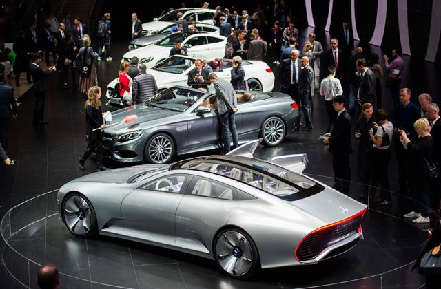Electric Cars Dominate The Buzz At Frankfurt Auto Show
