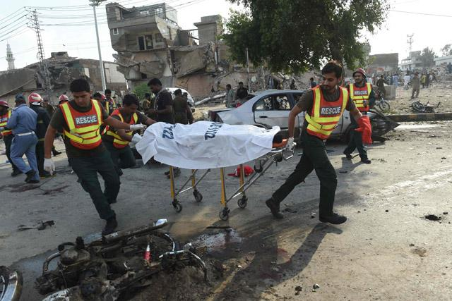 Blast near Pakistan Punjab CM's residence kills 25, injures 39