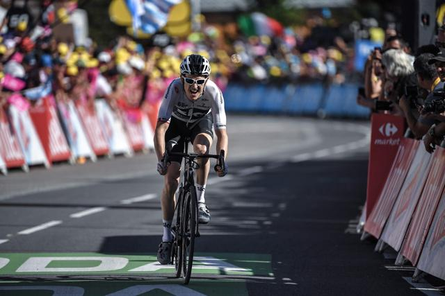 Alaphilippe wins Stage 10 of Tour de France, Van Avermaet keeps lead