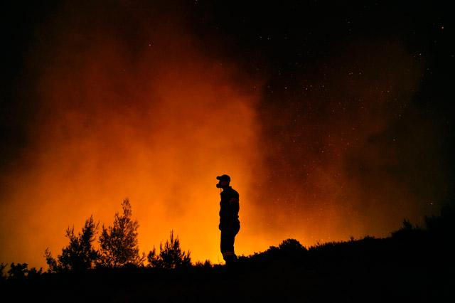 Greece withdraws request for European Union help to combat wildfires