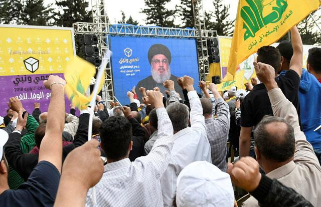 Hezbollah, allies in Lebanon poll victory