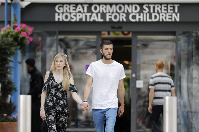 The British government has no involvement with the case of Charlie Gard