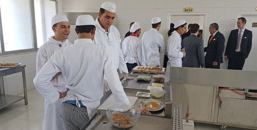 Labour minister inaugurates revamped hospitality training