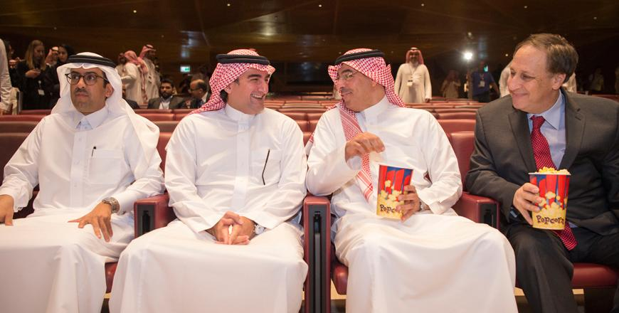 Saudi Arabia set for first public film screening at cinema