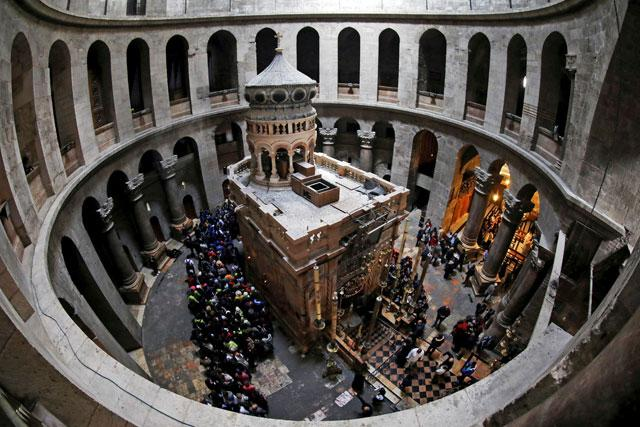Christianity's holiest site closes to protest a new Israeli tax plan