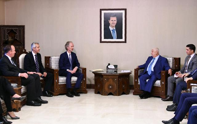 Syria cautions against 'foreign intervention' in constitution body