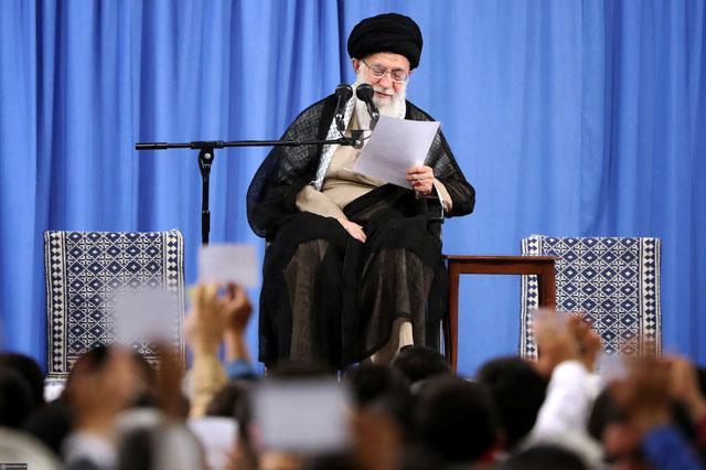 Mismanagement hits Iran more than U.S. sanctions - Iran's supreme leader