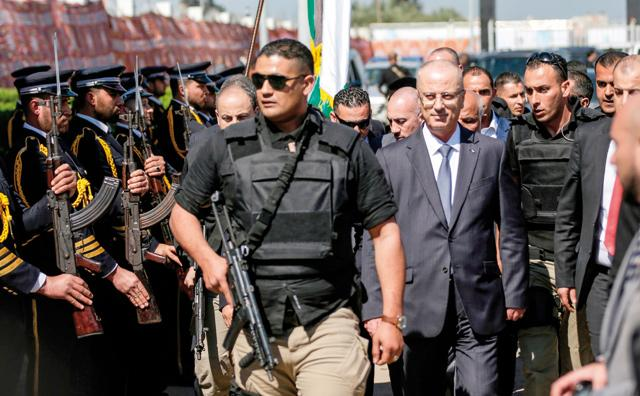 PA: Palestinian PM survives assassination attempt in Gaza
