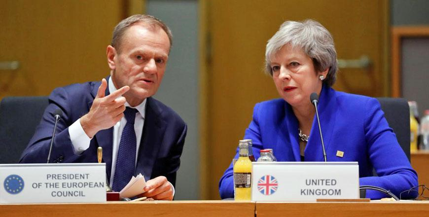 European Union  seals Brexit deal, urges Britons to back May