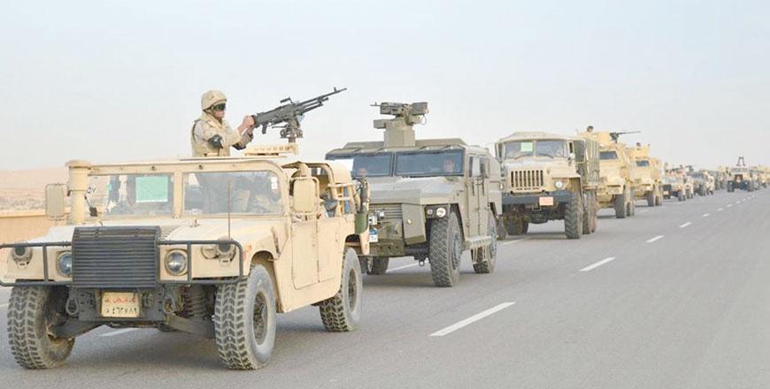 Egyptian army says 16 militants killed in Sinai operation
