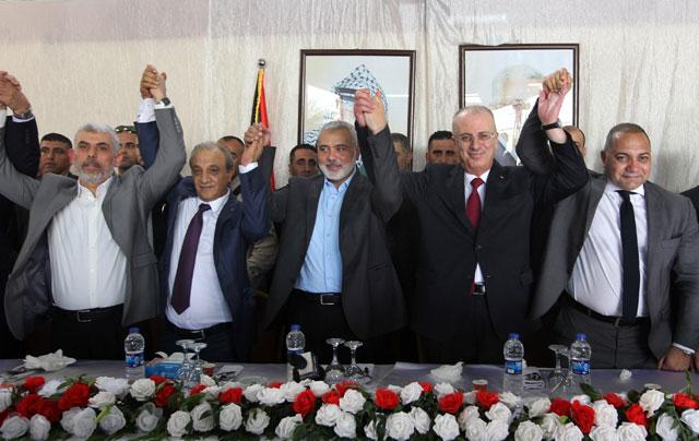 Celebration in Gaza over PA Reconciliation Visit