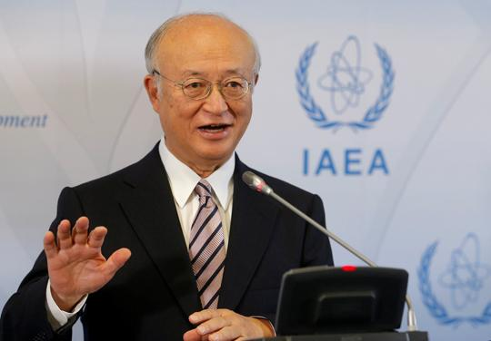 Amano says Iran is implementing nuclear deal