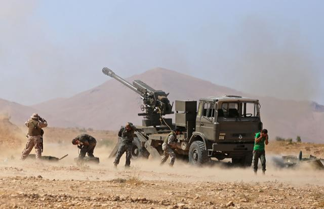 Syrian army allows IS militants to evacuate Qalamoun region