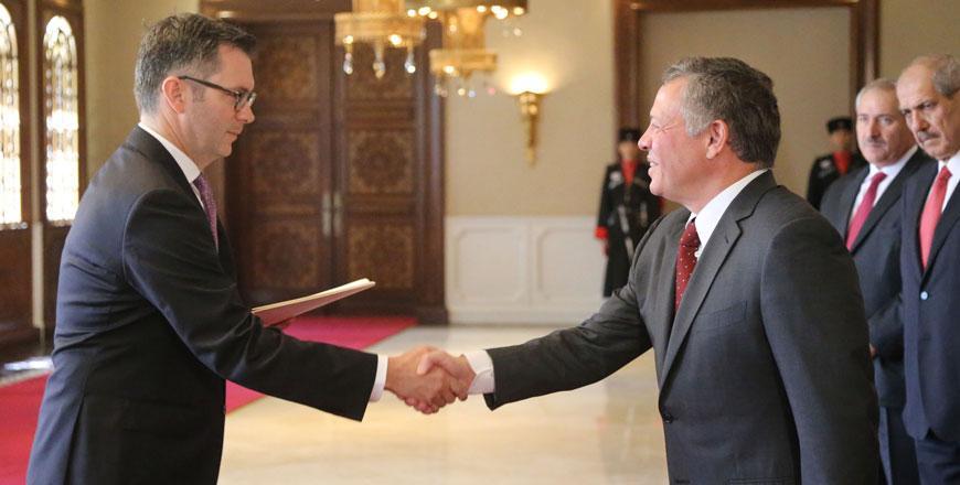 عمان - دعم كندي للاردن بمائة مليون دولار