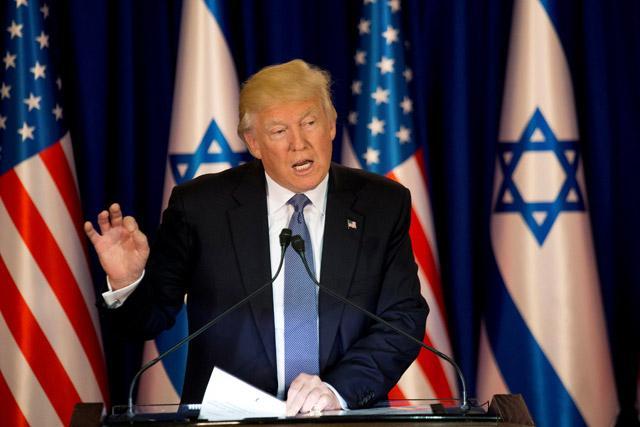 Trump trip to Israel possibly first flight from Saudi Arabia