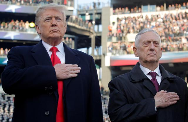 Trump seeks high ground over Mattis as Syria withdrawal is ordered