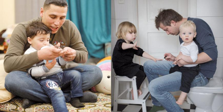 watch cb3c4 790a9 The Swedish embassy in Amman has announced a photo competition among  Jordanian fathers to promote dads and women s participation in the  workforce (Photo ...