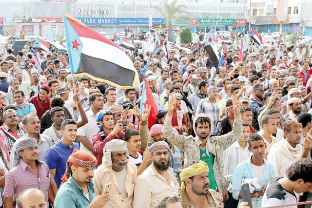 UAE-backed separatists celebrate victory in south Yemen