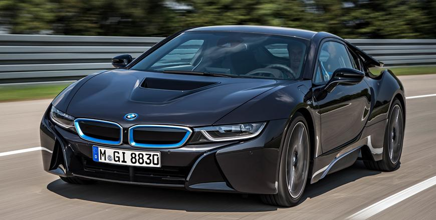 Bmw I8 Space Age Sports Car Jordan Times