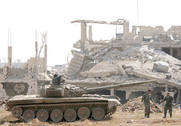 Syrian army declares capital Damascus