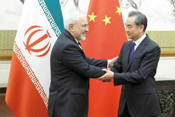 The foreign Ministers of China and Iran negotiated a nuclear deal