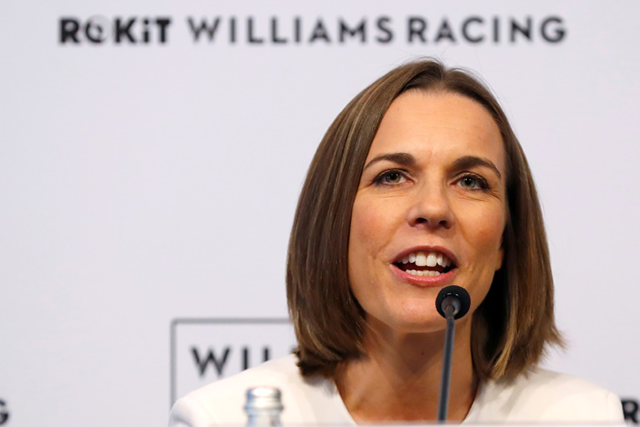 Sir Frank Williams and Claire Williams step down from Williams team