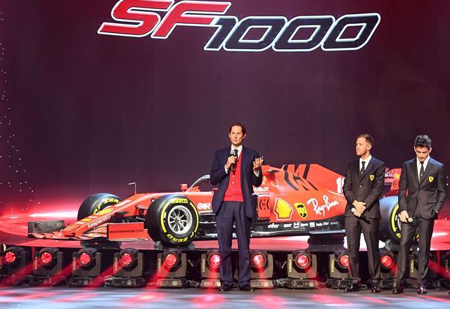 Ferrari say Sebastian Vettel first choice for Formula 1