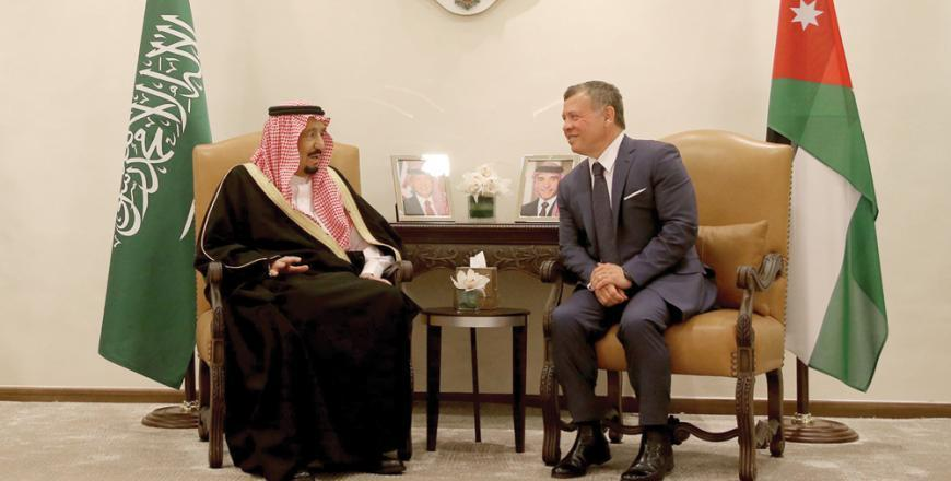 Gulf states pledge $2.5b to support Jordan