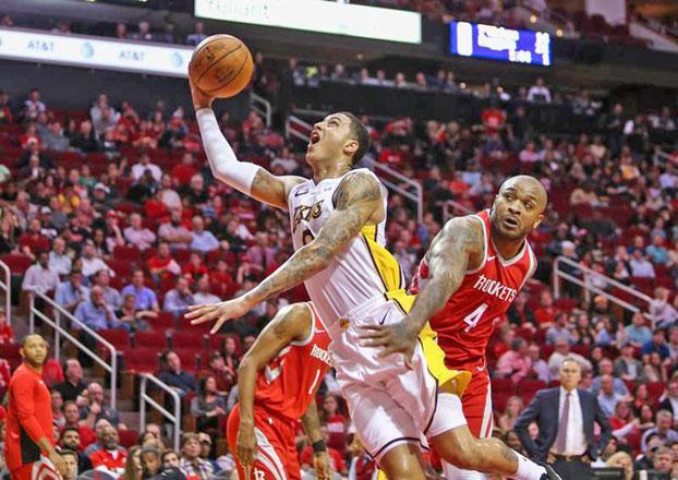 Kuzma, Lakers overcome Harden's 51 to end Rockets' streak
